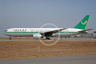 B777 00025 Boeing 777 China Yunnan Airlines B-2568 3 May 2001 via African Aviation Slide Service