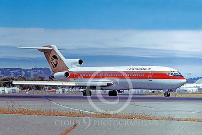 B727 00035 Boeing 727 Continental N88708 August 1982 by William T Larkins