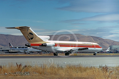 B727 00121 Boeing 727 Continental N88708 August 1972 by William T Larkins