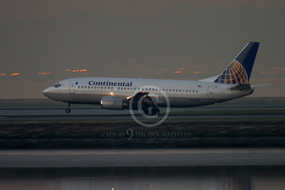 ALPN 00071 BOEING 737 CONTINENTAL AIRLINES N14334 by Peter J Mancus