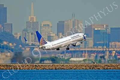 B737 00514 Boeing 737 Continental by Peter J Mancus