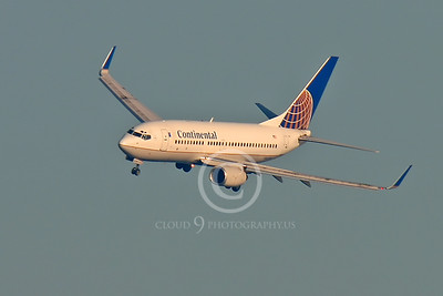 BOEING 737 00006 BOEING 737 CONTINENTAL AIRLINES by Peter J Mancus