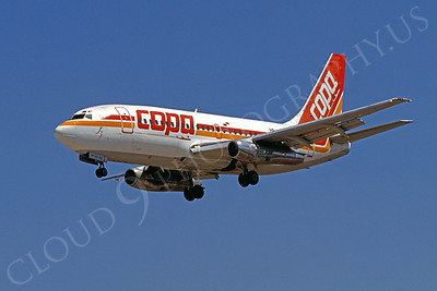 B737 00018 Boeing 737 Copa Airline March 1999 by Peter J Mancus