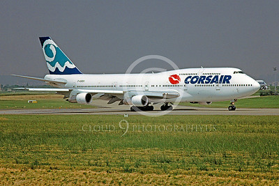 B747 00057 Boeing 747 Corsair Airline F-GSEX 25 May 2001 by Stephen W D Wolf