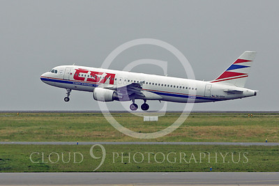 A320 00059 Airbus A320 Czech Airline OK-CEA by Peter J Mancus