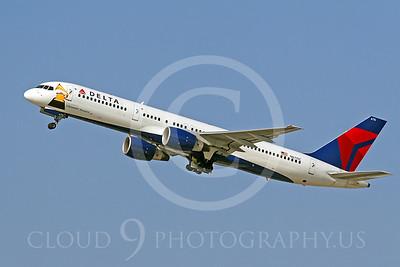 B757 00026 Boeing 757 Delta Airline N6715C by Tim Wagenknecht