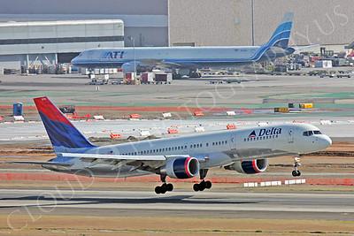 B757 00220 Boeing 757 Delta Airline by Peter J Mancus