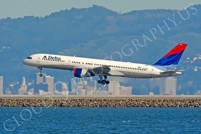 B757 00100 Boeing 757 Delta N655DL by Peter J Mancus
