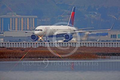 B757 00281 Boeing 757 Delta N649DL by Peter J Mancus