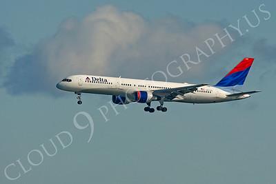 B757 00154 Boeing 757 Delta N655DL by Peter J Mancus