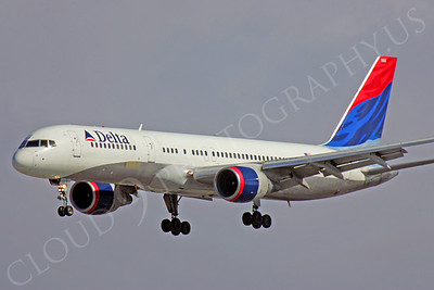 B757 00204 Boeing 757 Delta Airline by Peter J Mancus