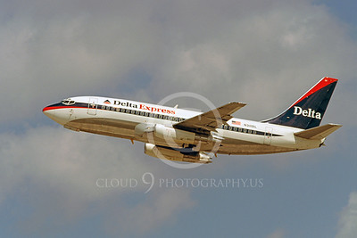 B737 00130 Boeing 737 Delta Express N311DL March 1999 by Peter J Mancus
