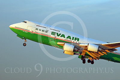 CUNALPJ 00080 Boeing 747-400 Eva Air Airline B-16461 by Tim Wagenknecht