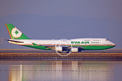 BOEING 747-400 00009 BOEING 747 EVA AIR B-16406 by Peter J Mancus