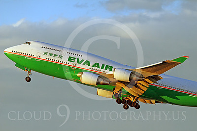 CUNALPJ 0008 Boeing 747 Eva Air Airline B-16410 by Tim Wagenknecht