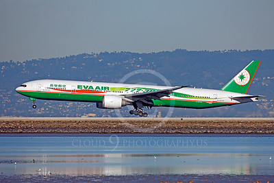 B777 00230 Boeing 777-300ER Eva Air B-16702 by Peter J Mancus