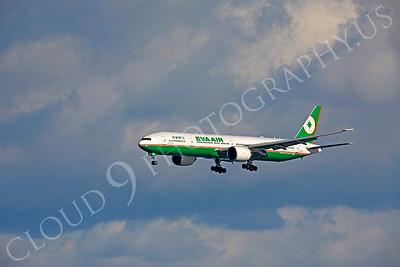 B777 00170 Boeing 777 Eva Air B-16706 by Peter J Mancus