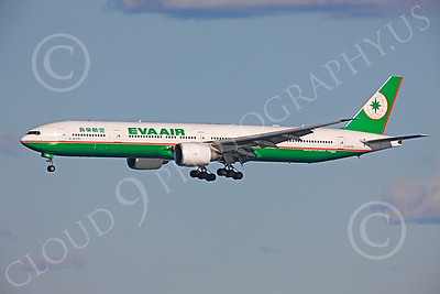 B777 00460 Boeing 777 Eva Air B-16706 by Peter J Mancus