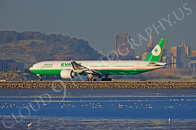 B777 00009 Boeing 777-300 Eva Air B-16706 by Peter J Mancus