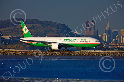 B777 00419 Boeing 777 Eva Air B-16706 by Peter J Mancus
