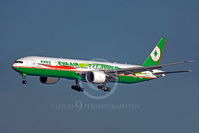 B777 00190 Boeing 777-300ER Eva Air B-16702 by Peter J Mancus