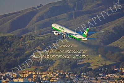 B777 00260 Boeing 777 Eva Air B-16706 by Peter J Mancus