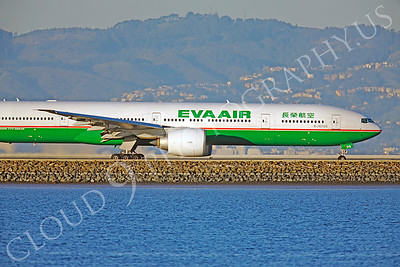 ALPJCUN 00007 Boeing 777 Eva Air B-16706 by Peter J Mancus