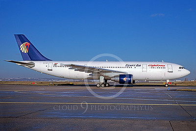 A300 00055 Airbus A300 Egypt Air SU-GAV January 2002 via African Aviation Slide Service