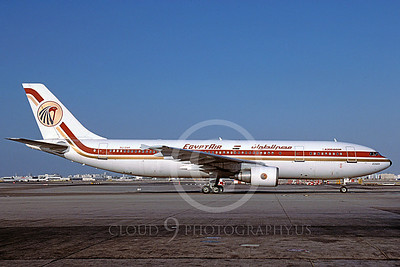 A300 00009 Airbus A300 Egypt Air SU-GAR via African Aviation Slide Service