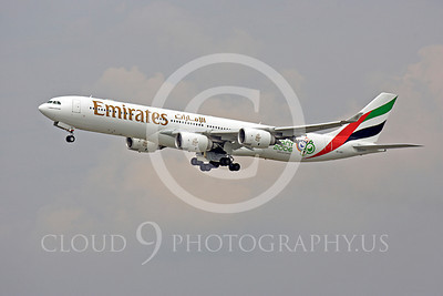 A340 00108 Airbus A340 Emirates A6-ERC by Peter J Mancus