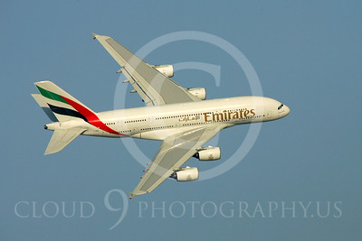A380 00006 Airbus A380 Emirates by Paul Ridgway