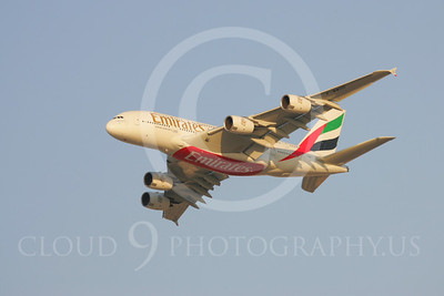 A380 00018 Airbus A380 Emirates by Paul Ridgway