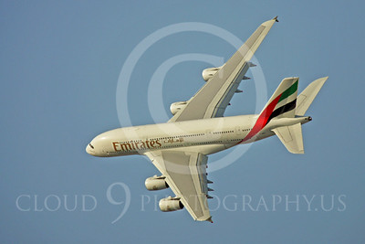 A380 00002 Airbus A380 Emirates by Paul Ridgway