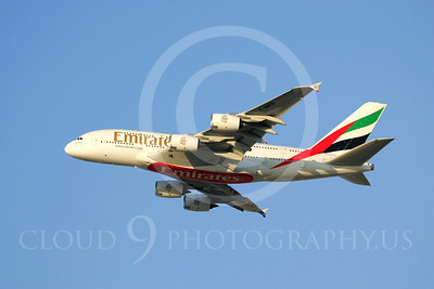 A380 00024 Airbus A380 Emirates by Paul Ridgway