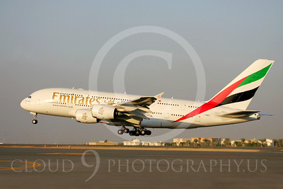 A380 00016 Airbus A380 Emirates by Paul Ridgway
