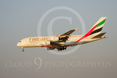 A380 00030 Airbus A380 Emirates by Paul Ridgway