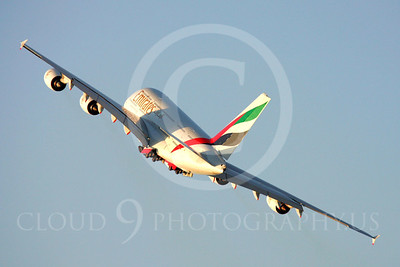 A380 00028 Airbus A380 Emirates by Paul Ridgway