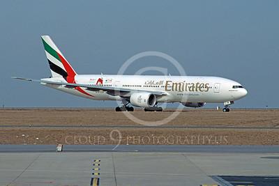 B777 00001 Boeing 777 Emirates A6-EMI by Stephen W D Wolf