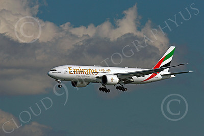 B777 00404 Boeing 777 Emirates A6-EWF by Peter J Mancus