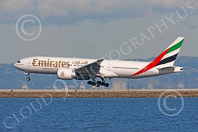 B777 00428 Boeing 777 Emirates A6-EWF by Peter J Mancus