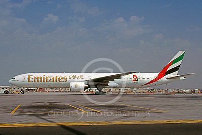 B777 00011 Boeing 777 Emirates A6-EMN April 2001 via African Aviation Slide Service