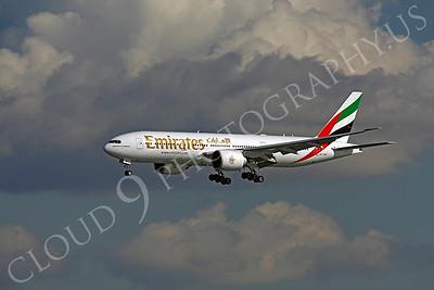 B777 00078 Boeing 777 Emirates A6-EWF by Peter J Mancus