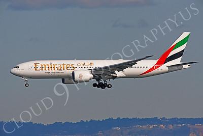 B777 00186 Boeing 777 Emirates A6-EWF by Peter J Mancus
