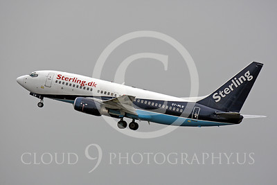 B737P 00174 Boeing 737 Sterling OY-MLW by Peter J Mancus