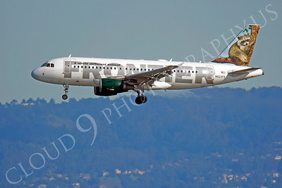 A320 0240 Airbus A320 Frontier N923FR by Peter J Mancus