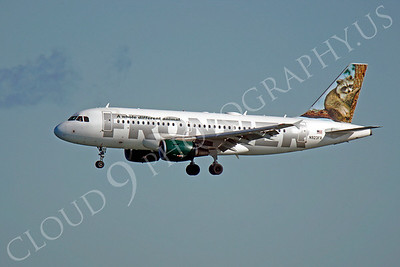 A320 0110 Airbus A320 Frontier N923FR by Peter J Mancus
