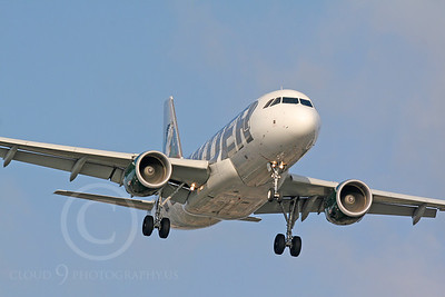 Airbus A320 00032 Frontier Airlines by Carl E Porter