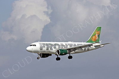 A320 00058 Airbus A320 Frontier Airline N912FR by Peter J Mancus