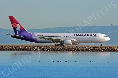 B767 00227 Boeing 767 Hawaiian N584HA by Peter J Mancus
