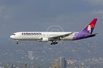 B767 00014 Boeing 767 Hawaiian Airline by Peter J Mancus